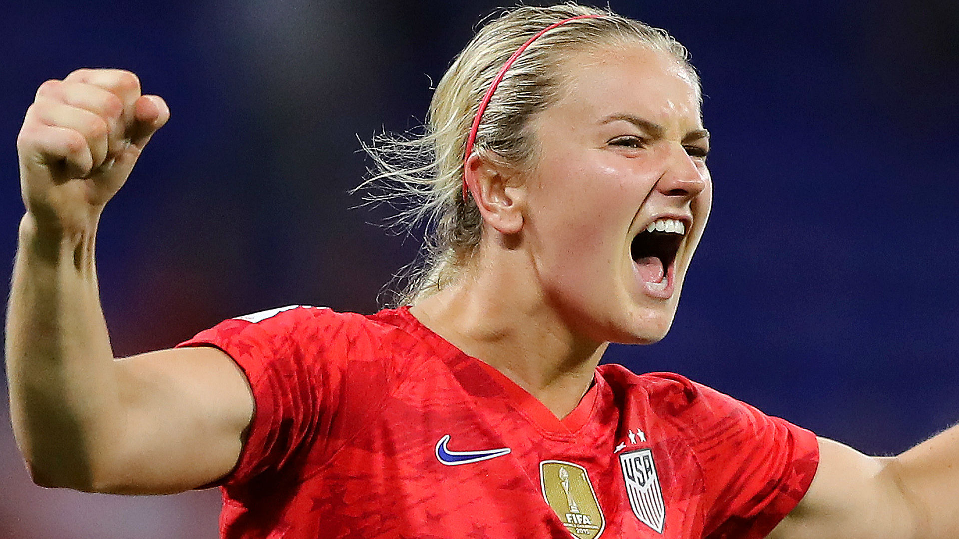 USA's Alex Morgan questions reaction to 'tea drinking' goal celebration against England