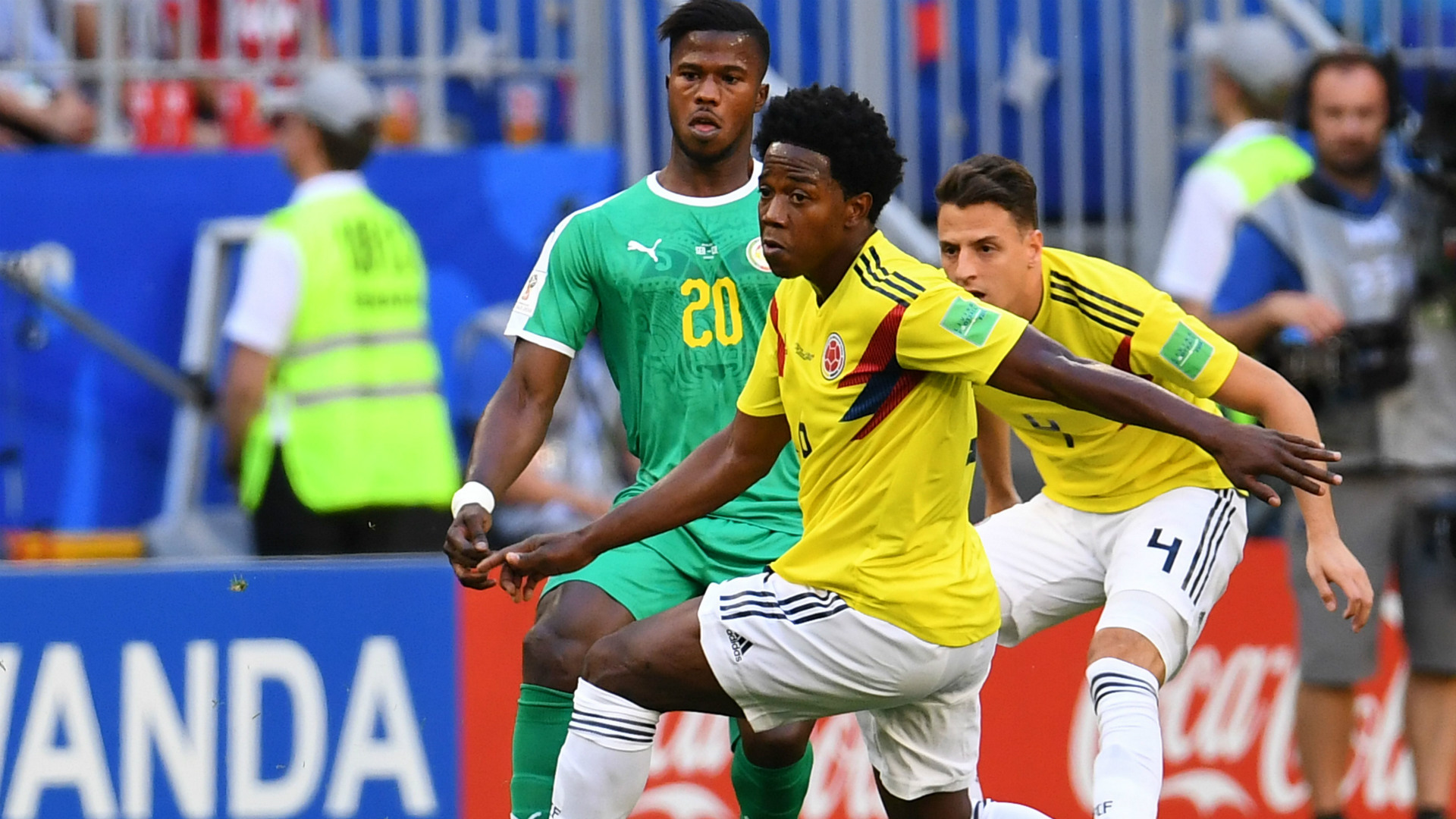 Carlos Sanchez Colombia Senegal WC Russia 28062018
