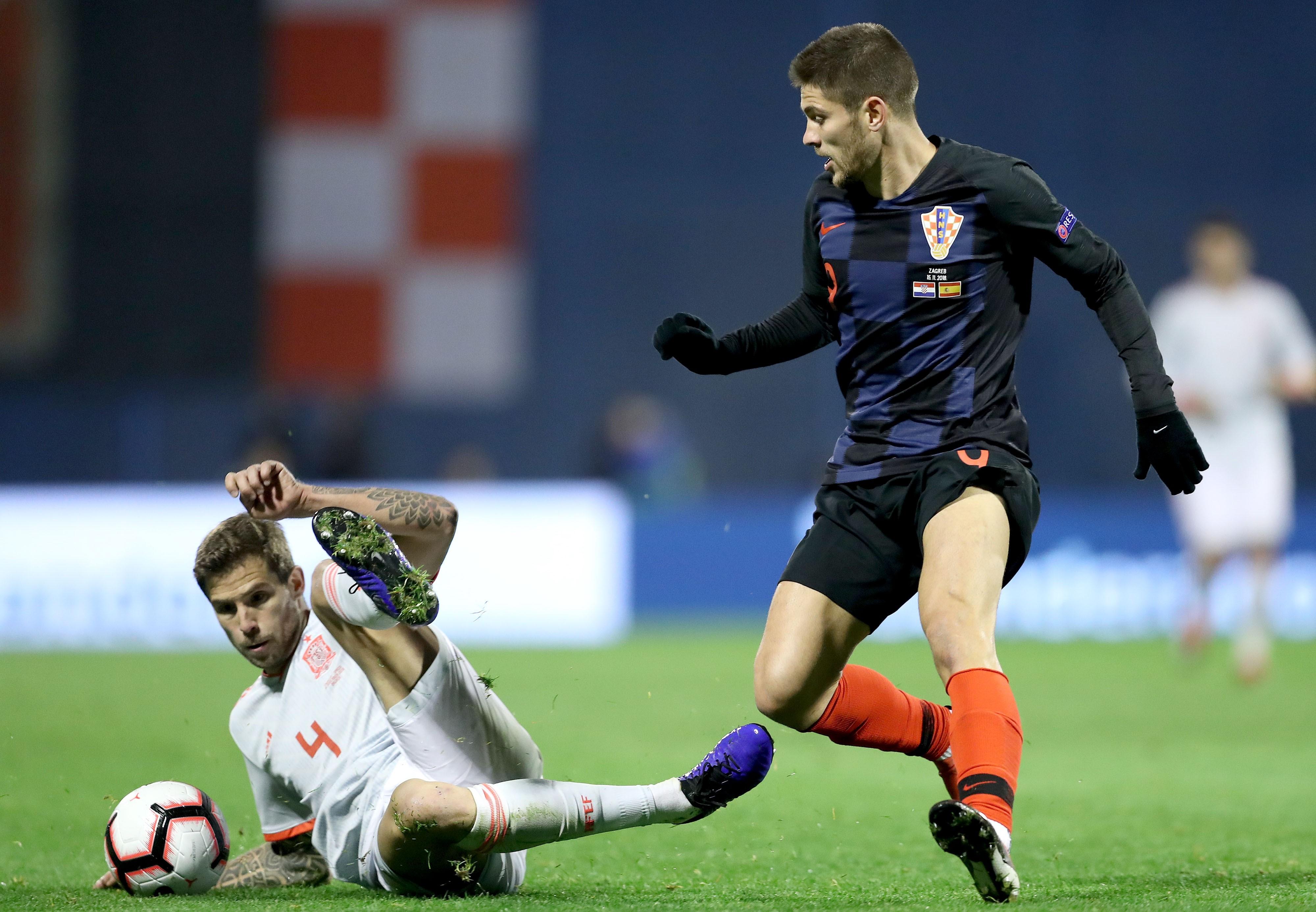 croatia spain - uefa nations league - andrej kramaric - 15112018