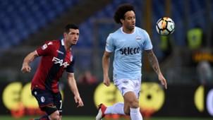 Felipe Anderson Blerim Dzemaili Lazio Bologna Serie A