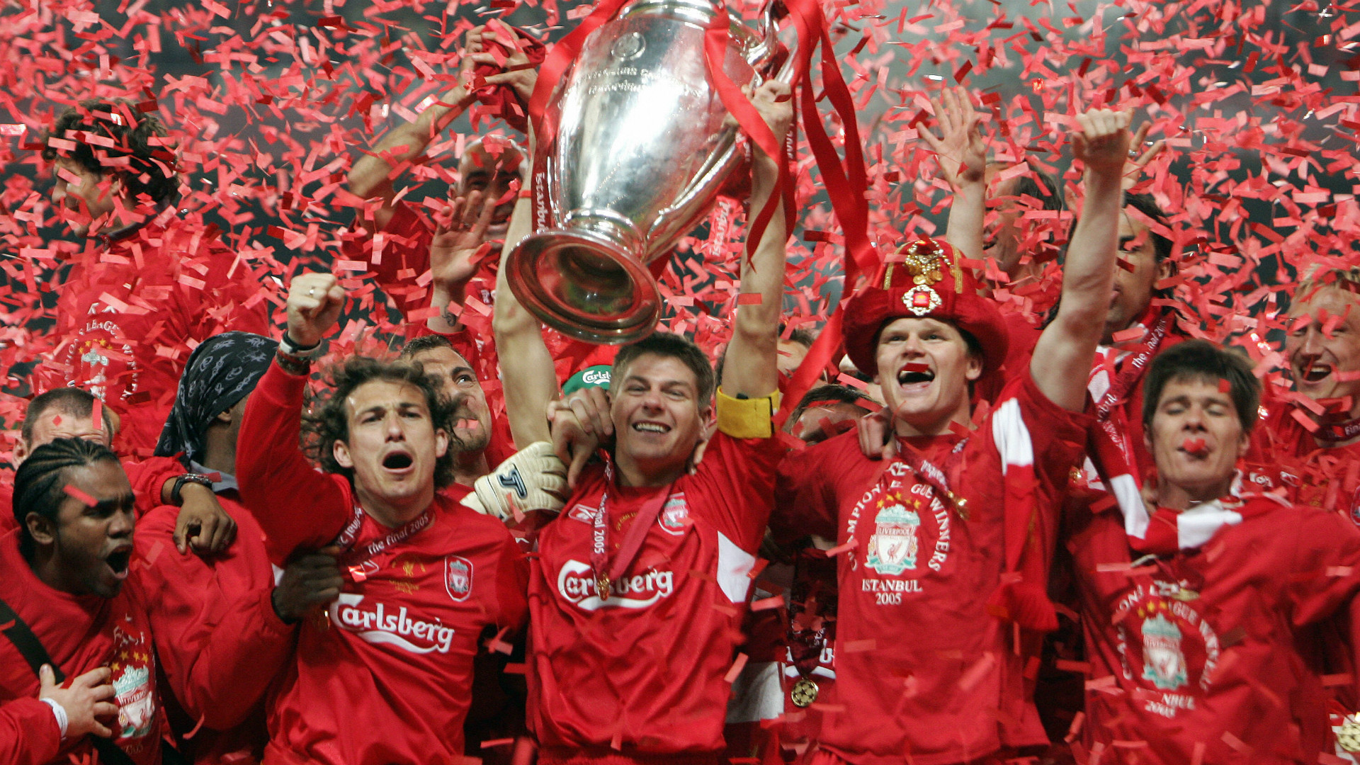 Liverpool Champions League final 2005