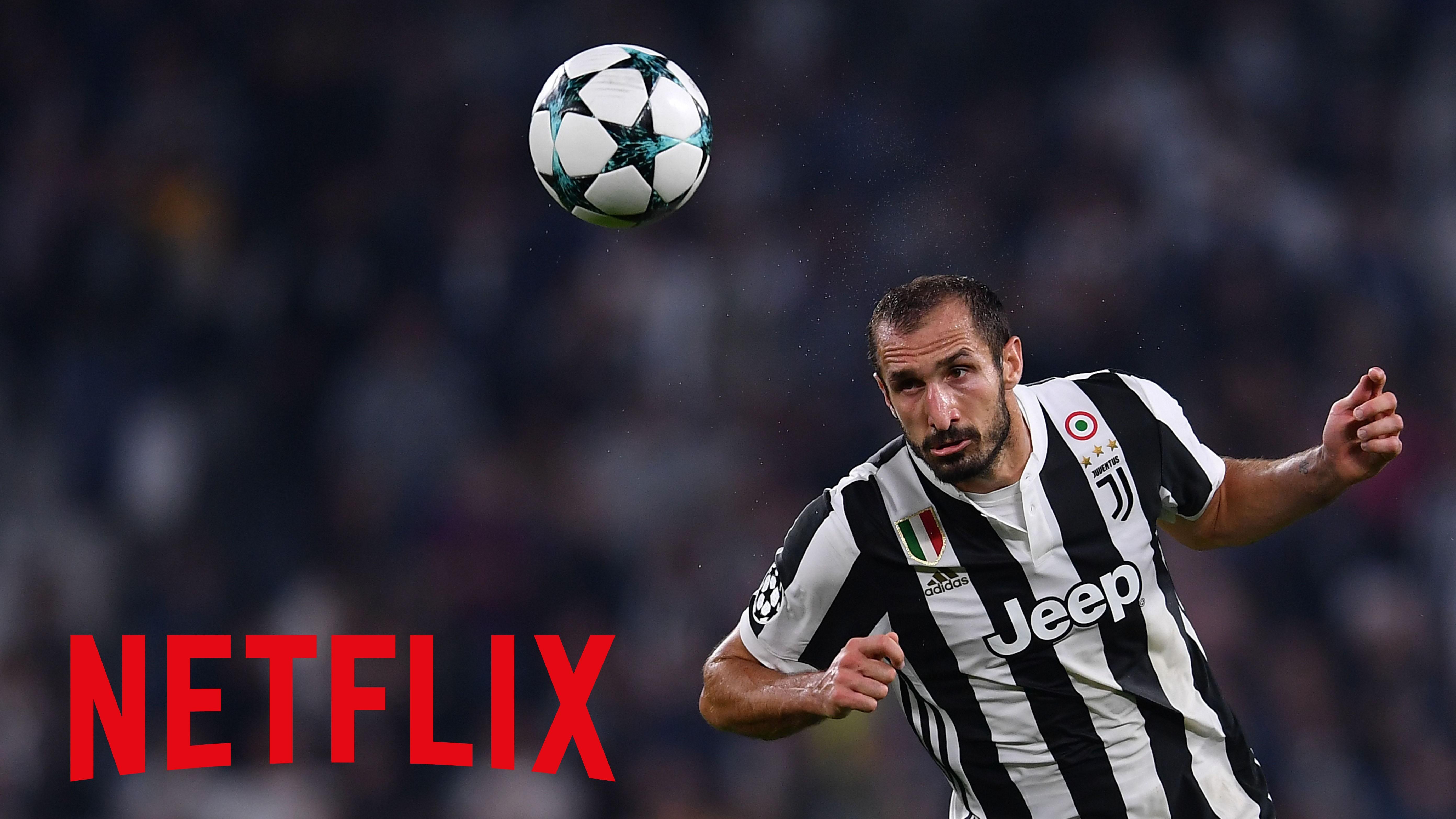 Chiellini Juventus Netflix