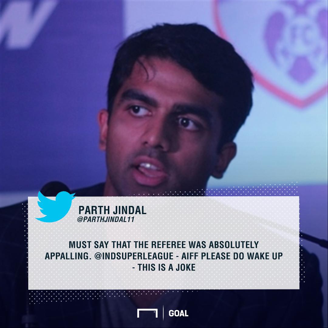 GFX Parth Jindal Quote Bengaluru FC ISL 4