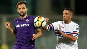 Badelj Caprari Fiorentina Sampdoria