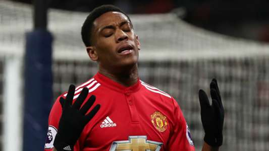 Anthony Martial Manchester United 2017-18