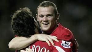 Wayne Rooney Ruud van Nistelrooy Manchester United