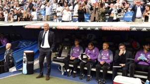 Zinedine Zidane Real Madrid Sevilla LaLiga 14052017