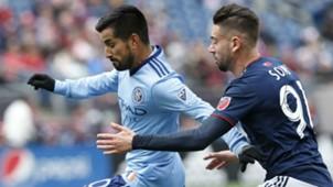 Maxi Moralez NYCFC New England Revolution MLS