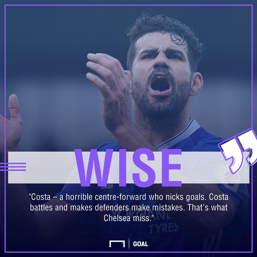 Dennis Wise Chelsea miss Diego Costa