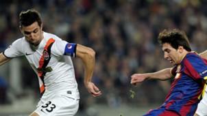 Darijo Srna & Lionel Messi : Barcelona vs. Shakhtar Donetsk