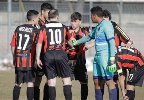 Seven-man Serie C side thrashed 20-0!