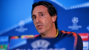 Unai Emery PSG UEFA Champions League