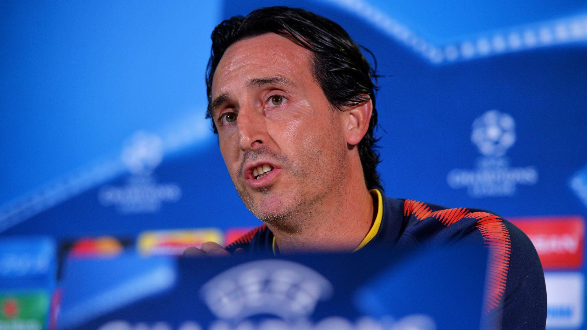Unai Emery PSG UEFA Champions League