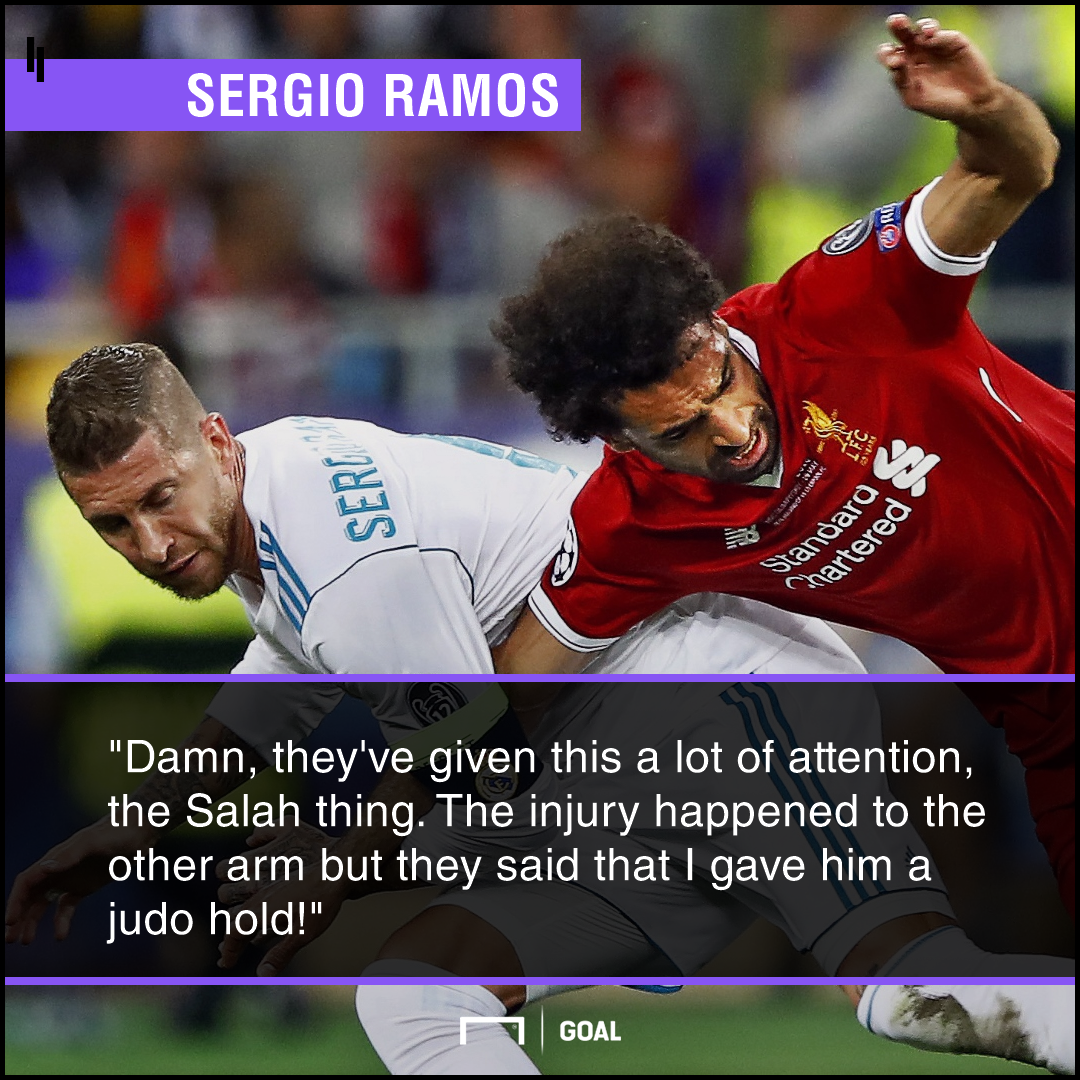 Sergio Ramos Salah PS