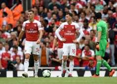 Arsenal players vs Manchester City Premier League 2018-19