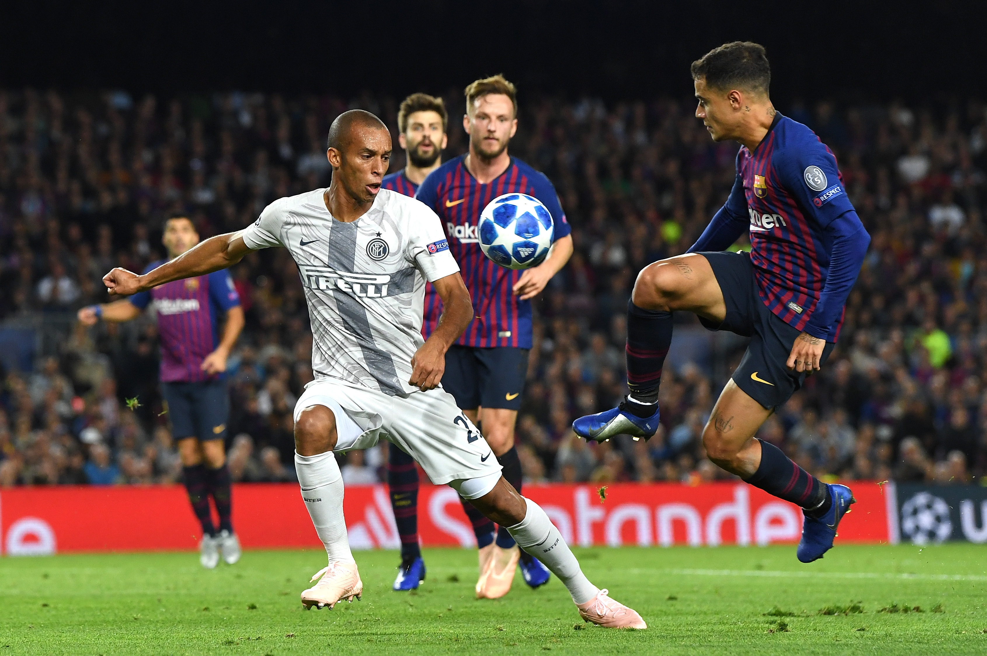 Coutinho Barcelona Inter Champions League