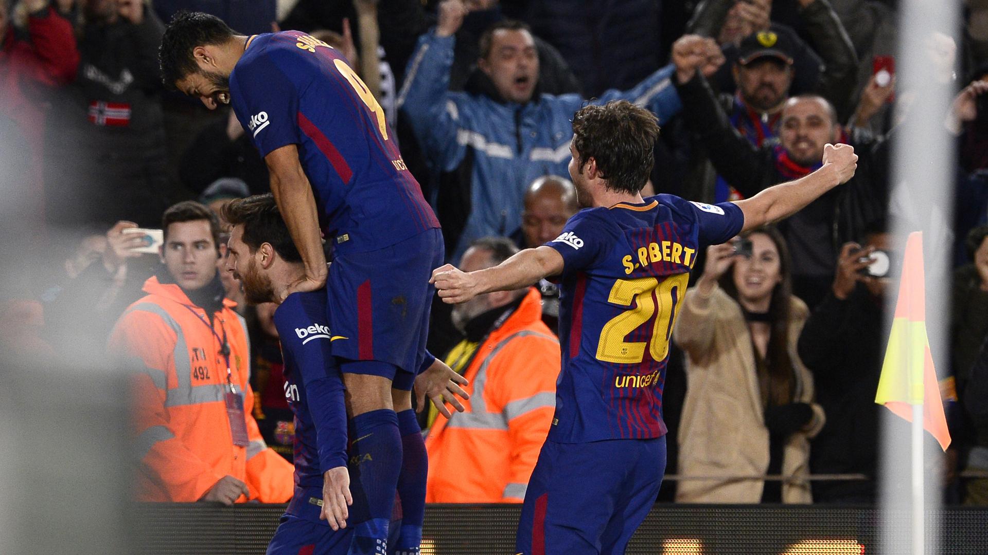 Espanha. Barça em vantagem na Taça do Rei