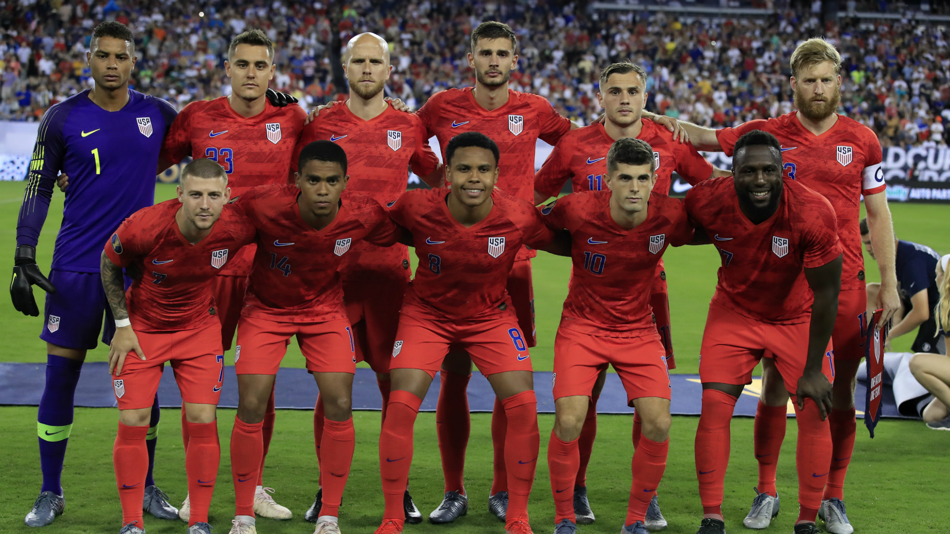 Gold Cup final: Pulisic, Altidore headline USMNT squad to