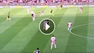 Alexis Sánchez asistencia Özil goal Arsenal Stoke 130517