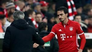 Mats Hummels FC Bayern München Carlo Ancelotti