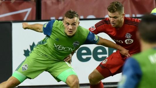 Jordan Morris Eriq Zavaleta Seattle Sounders Toronto FC MLS 07022016