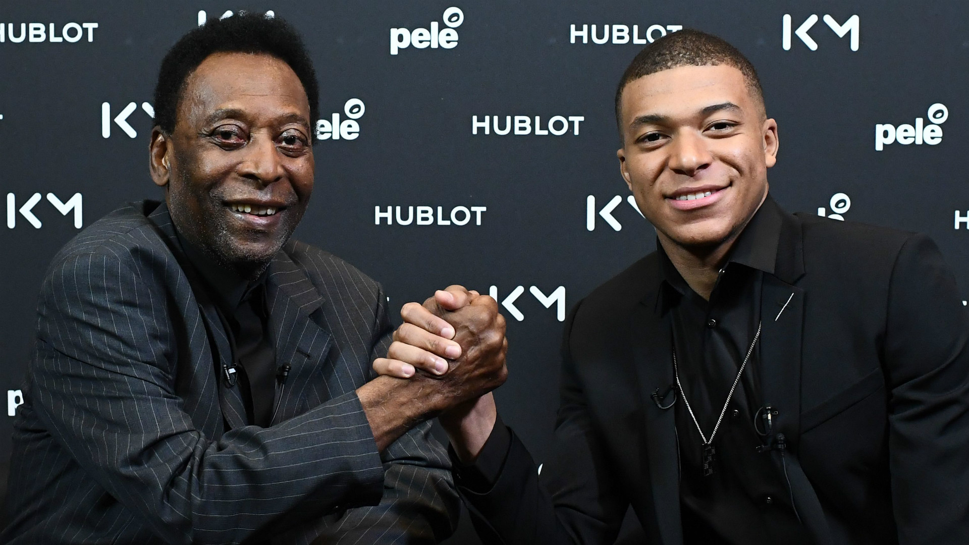 Pele hospitalised in Paris after Mbappe's visit