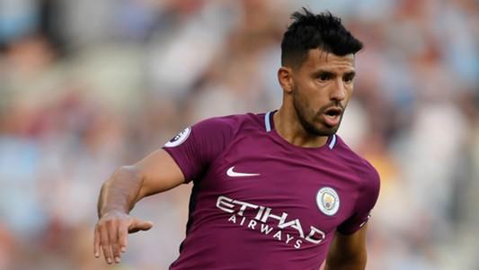 Sergio Aguero Brighton Manchester City 12082017