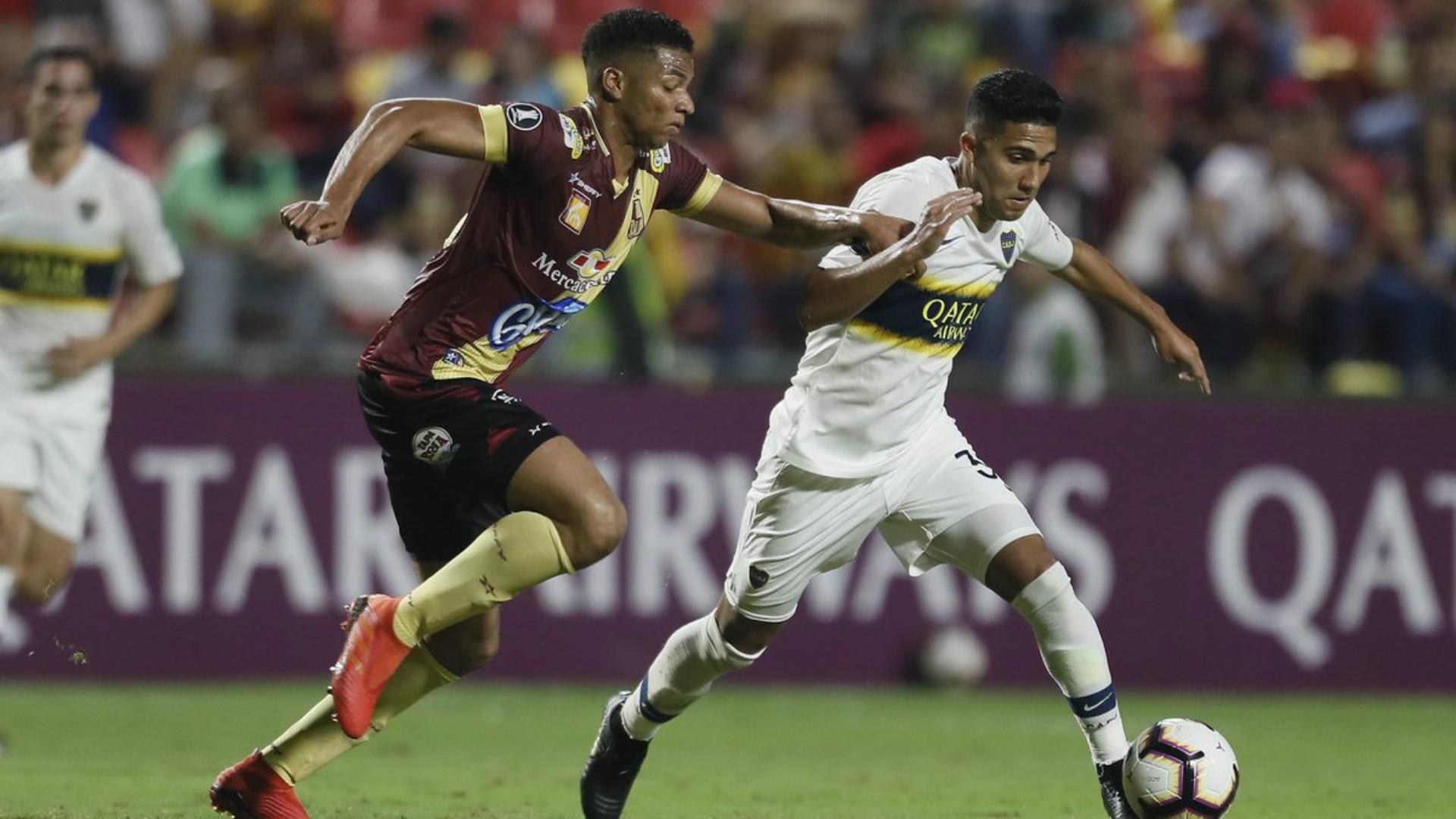 Reynoso Deportes Tolima Boca Copa Libertadores Grupo G Fecha 5