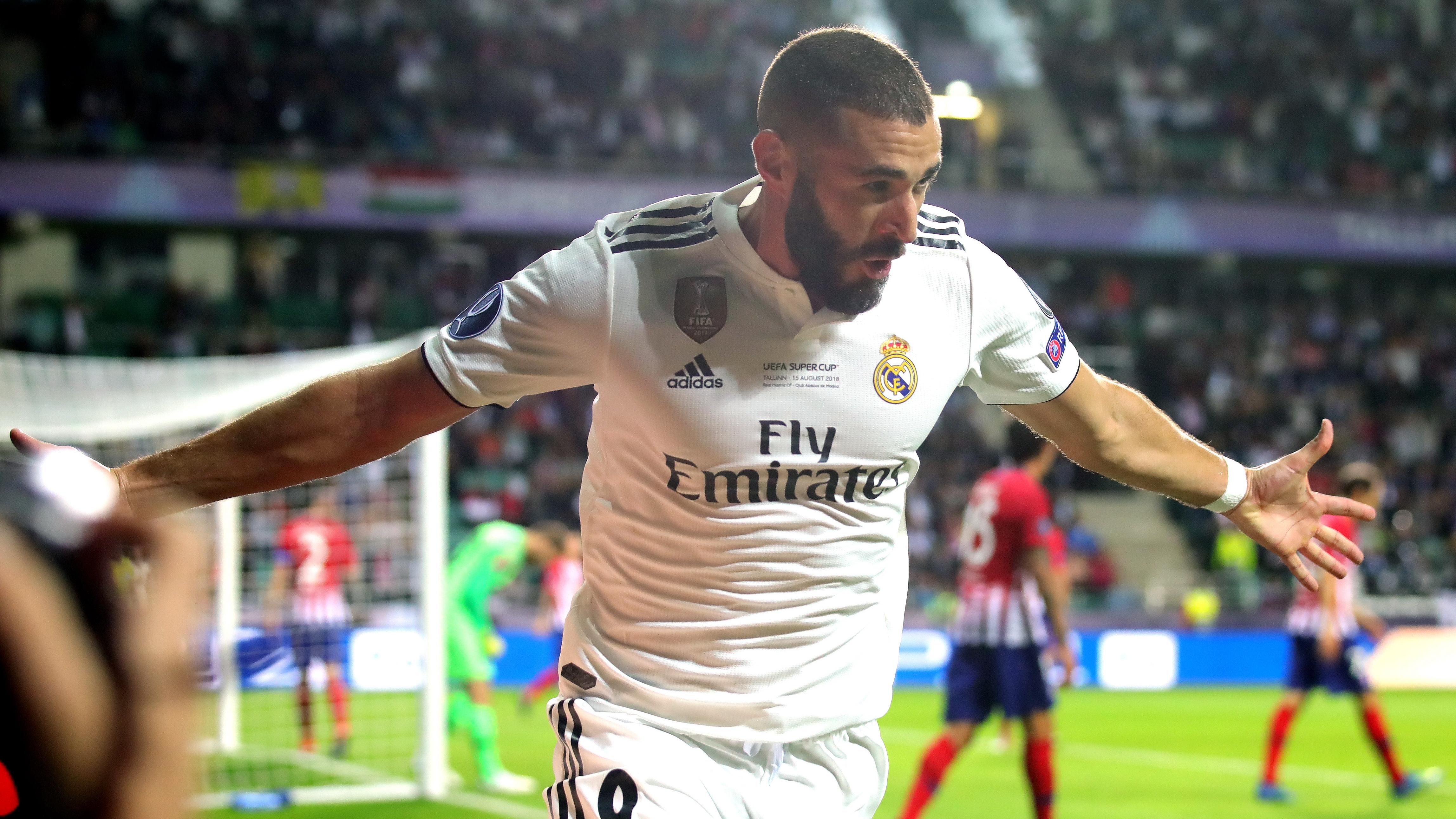 Karim Benzema Real Madrid Atletico Madrid