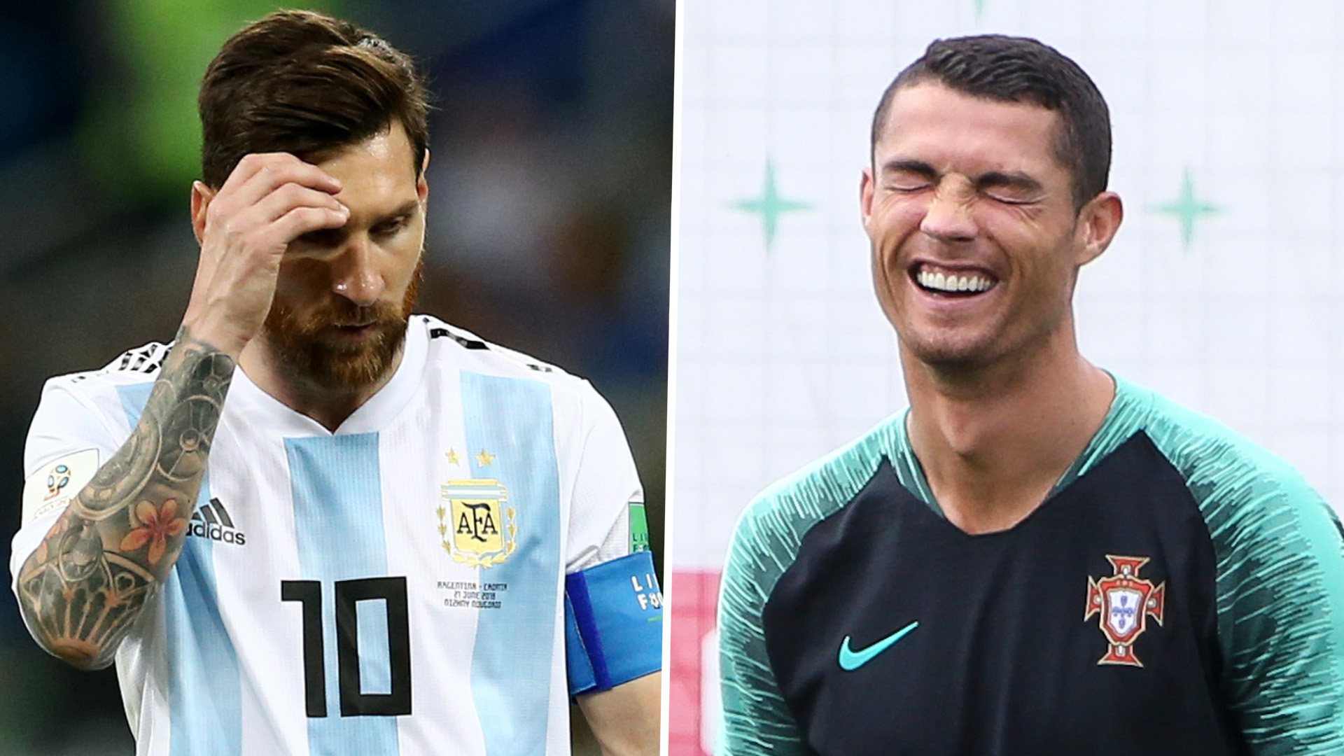 Messi World Cup Simeone Snubs Messi In Favour Of Ronaldo Following Argentinas Embarrassing Croatia Loss Goal Com