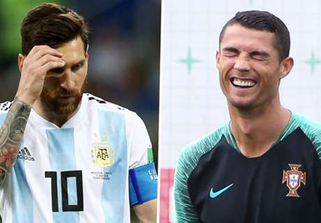 Simeone snubs Messi in favour of Ronaldo