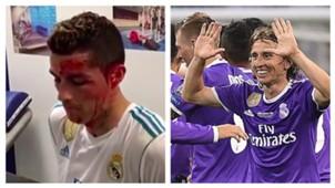 Ronaldo Modric collage