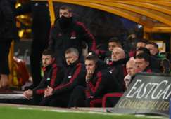Ole Gunnar Solskjaer & his staff