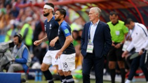 Giroud Fekir France Australia World Cup 2018