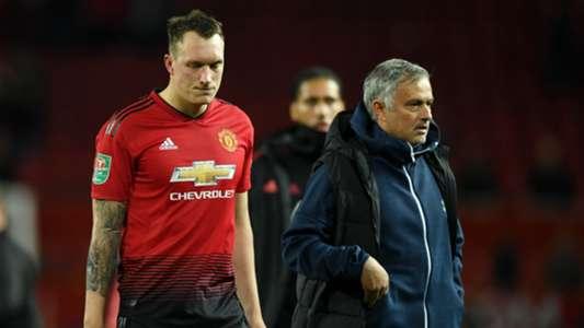 Phil Jones, Jose Mourinho