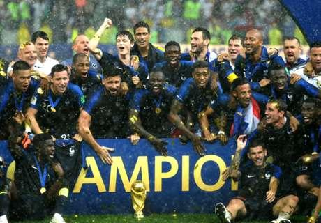 FOTO: Selebrasi Juara Dunia Prancis