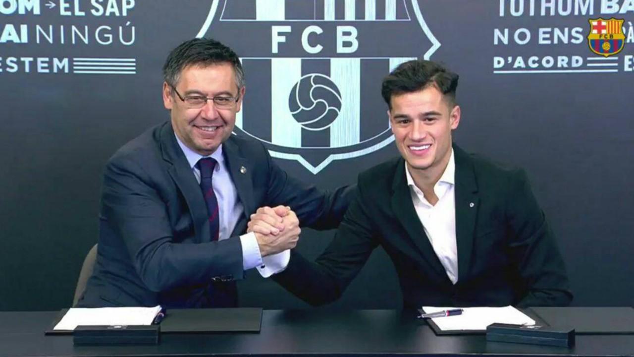 Philippe Coutinho I Barcelona I 08 01 17