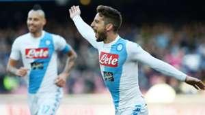 Dries Mertens Napoli Torino Serie A