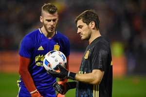 David De Gea & Iker Casillas