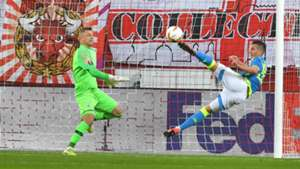 Milik Salzburg Napoli Europa League