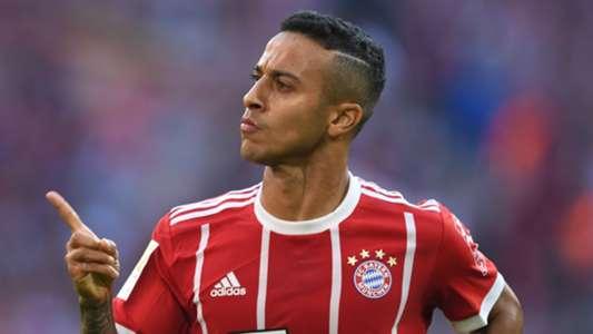 Thiago Alcantara Bayern Munich 2017-18
