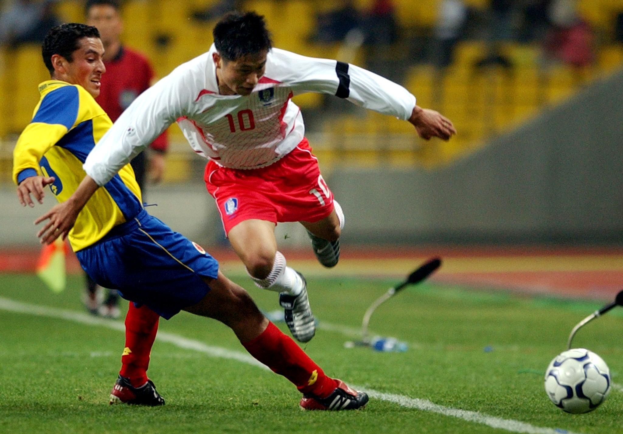 Colombia vs Corea del Sur 2003