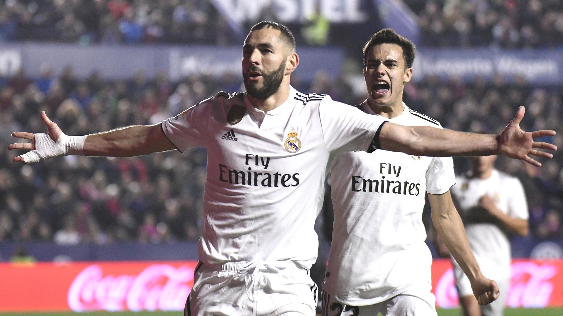 Karim Benzema, Sergio Regulion, Real Madrid