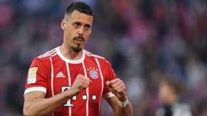 Sandro Wagner FC Bayern München 14042018