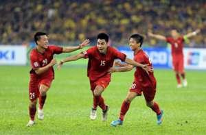 Duc Huy Huy Hung Van Duc Vietnam Malaysia AFF Cup 2018