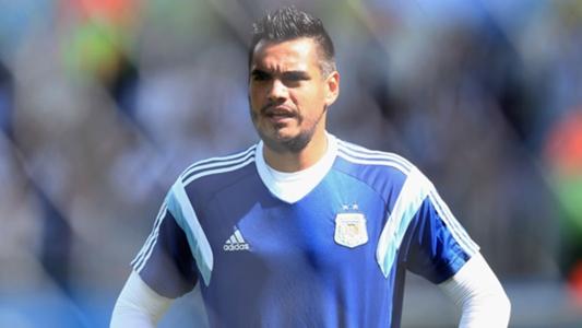 77149b0db92 Argentina announce Man Utd goalkeeper Sergio Romero will miss World Cup  through injury