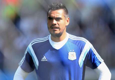Sergio Romero to miss World Cup through injury