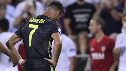 Cristiano Ronaldo Valencia Juventus Champions League
