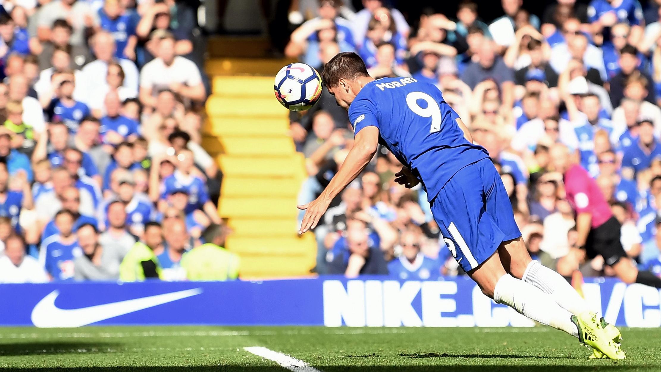 Alvaro Morata Chelsea Burnley Premier League