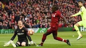 Marc-Andre Ter Stegen Sadio Mane Liverpool Barcelona UCL 07052019